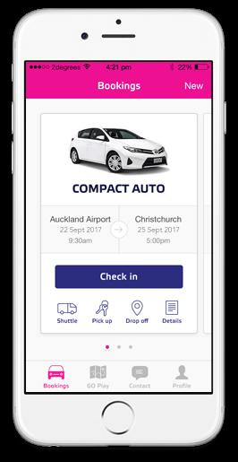 Go Rentals App Car Rental App Nz Go Rentals