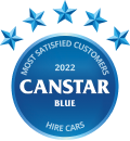 Canstar Blue Most Satisfied Customers Award, Hire Cars, 2020