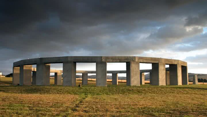 Image of Stonehenge Aotearoa near Wellington