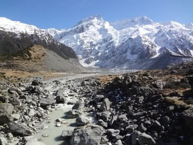 Image of Mount Cook courtesy of GO Rentals customer Christina Jander