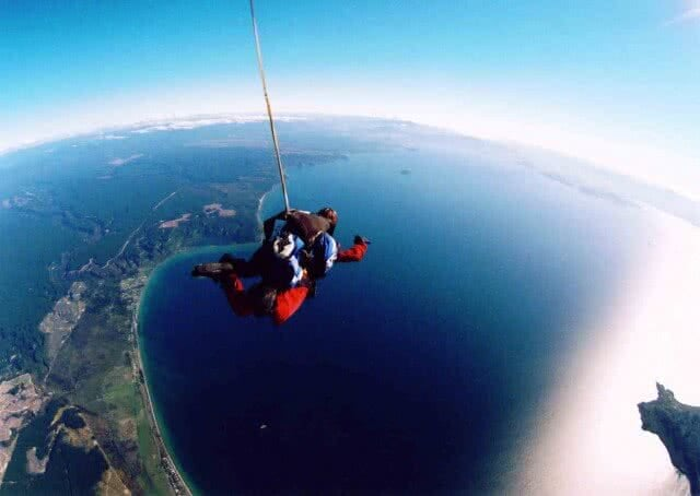 Lake Taupo Skydive