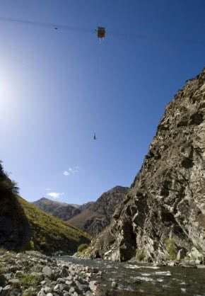Image showing the AJ Hackett, Nevis Bungy Jump near Queenstown, New Zealand