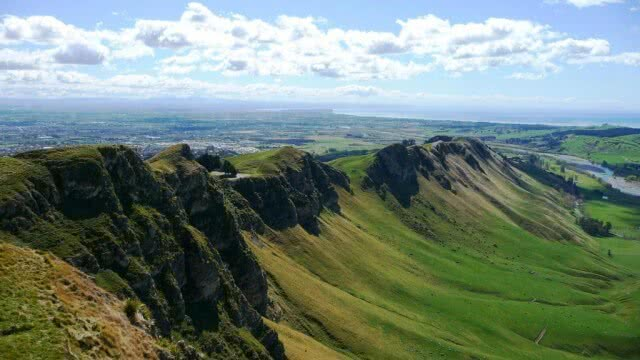 Image from the top of Te Mata Peak in Napier