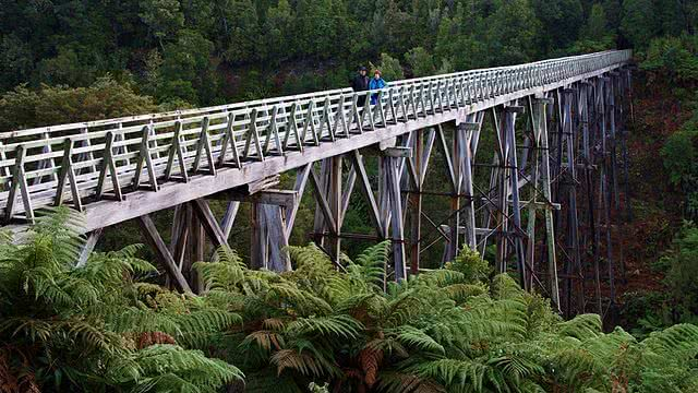 Image of the Percy Burn Viadcut, Tuatapere