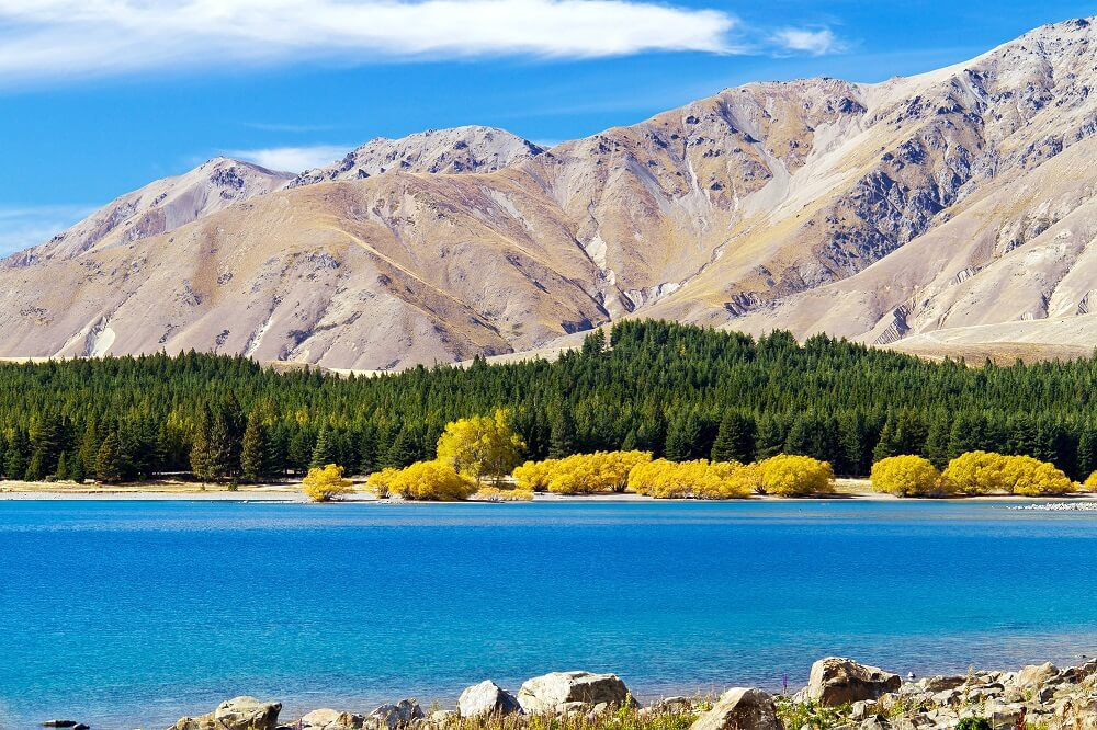A photo of Tekapo in the Autumn