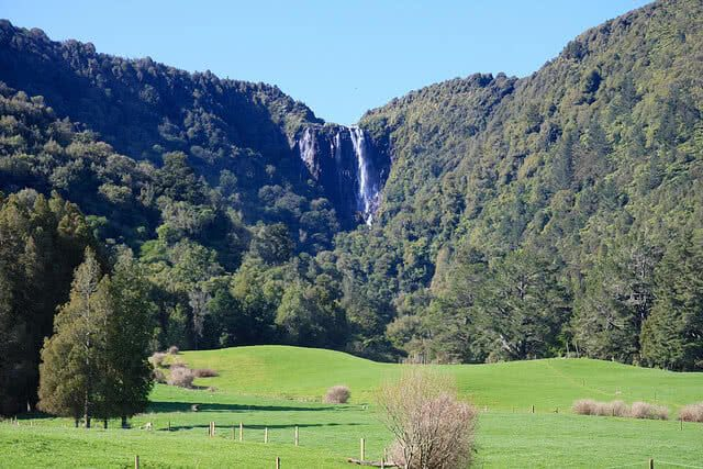 Wairere Falls near Tauranga. Photo credit: ITravelNZ - Flickr