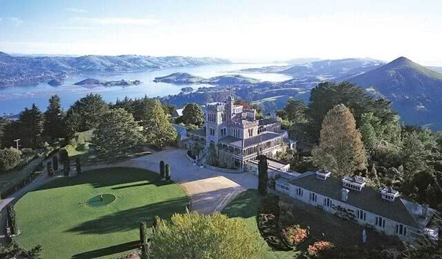 Larnach Castle is New Zealand's only castle