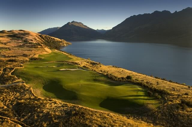 Jack's Point near Queenstown is one of the most spectacular course in NZ