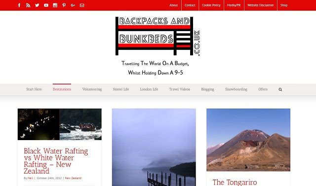 Backpacks and Bunkbeds International Travel Blog
