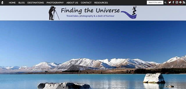 Finding the Universe USA Travel Blogger