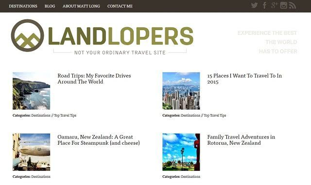 Land Lopers USA Travel Blogger