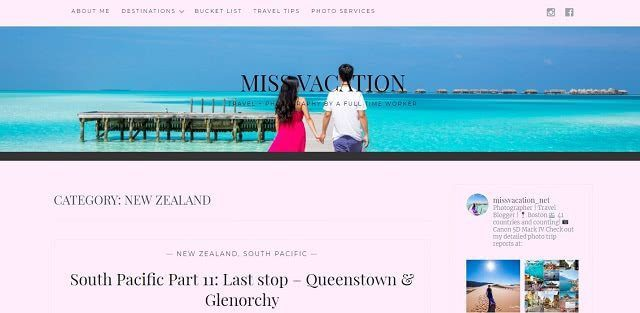 Miss Vacation USA Travel Blogger