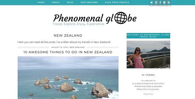 Phenomenal Globe International Travel Blog