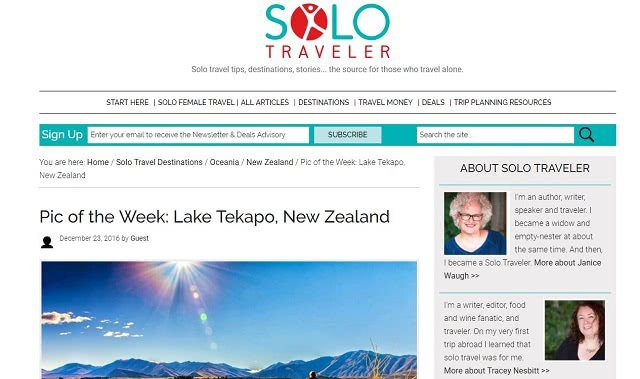 Solo Traveler International Travel Blog
