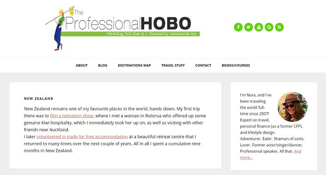 The Professional Hobo International Travel Blog