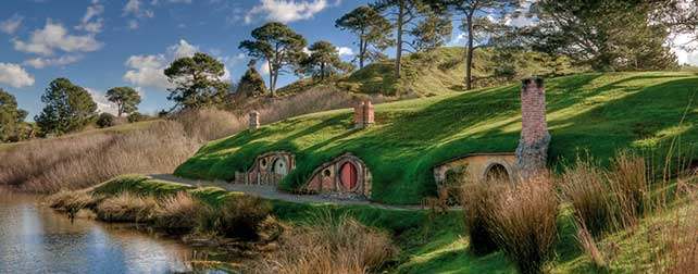 Hobbiton - Lord of the Rings